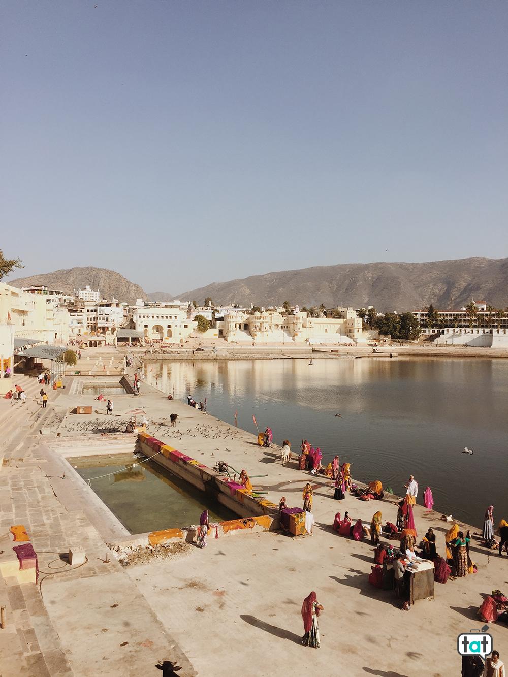 Ghat a Pushkar