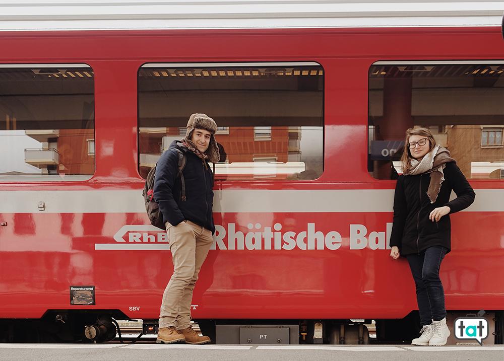 Rhatische Bahn Treno rosso