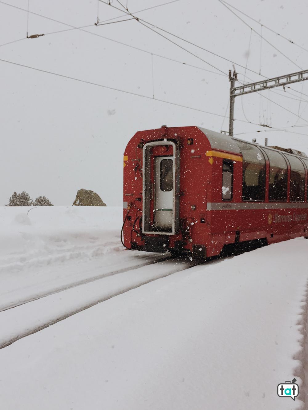 Treno Rosso da Tirano a Sankt Moritz