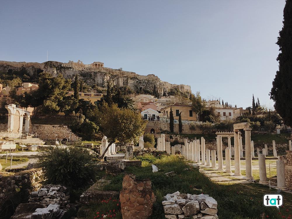 Vista di Atene