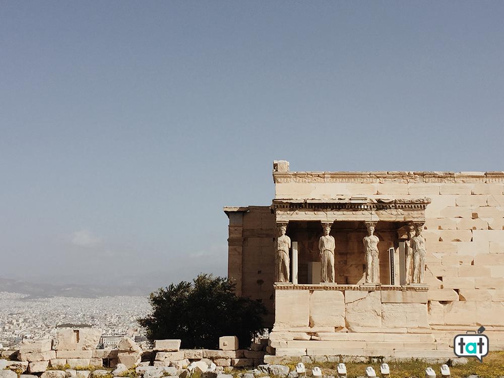Cariatidi Atene