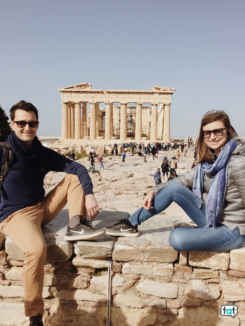 Foto al Partenone
