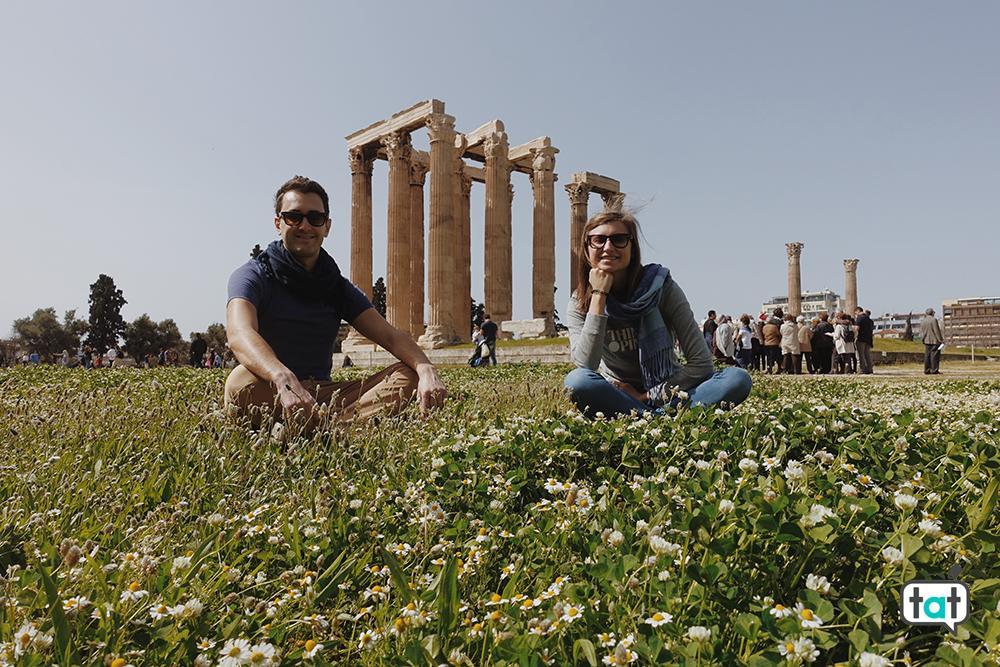 Tempio di Zeus Olimpio ad Atene