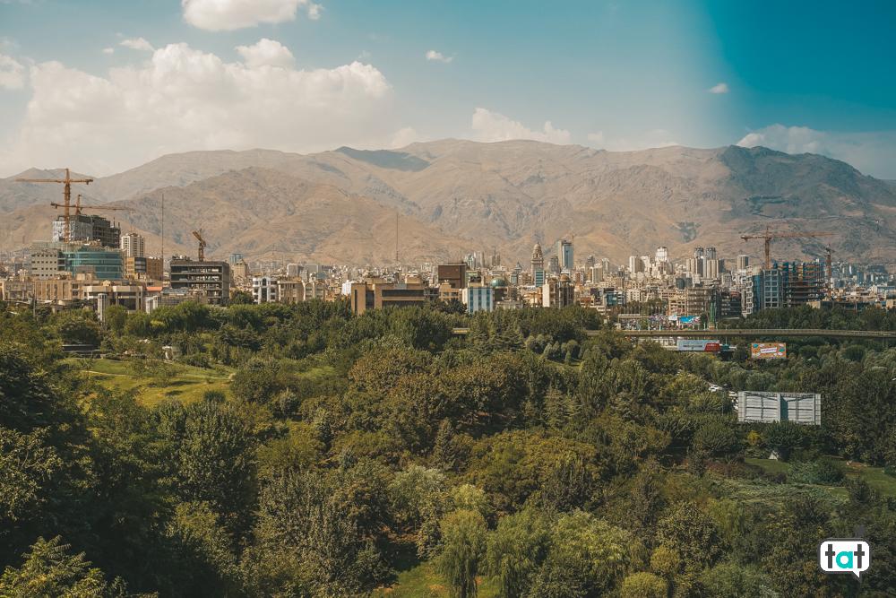 vista ponte Tabiat Teheran
