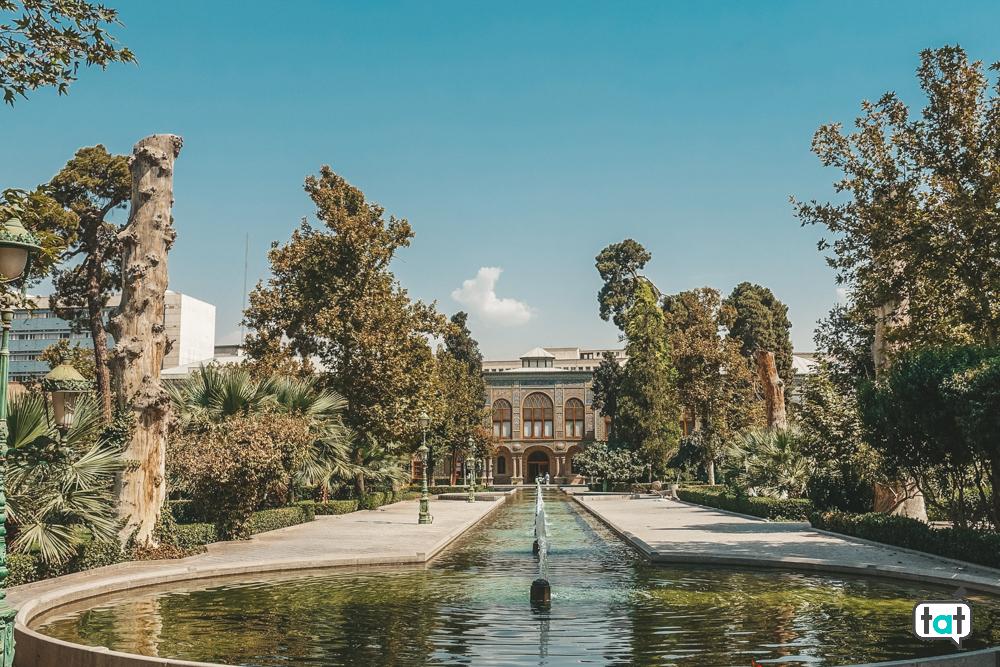 Giardino Golestan Palace