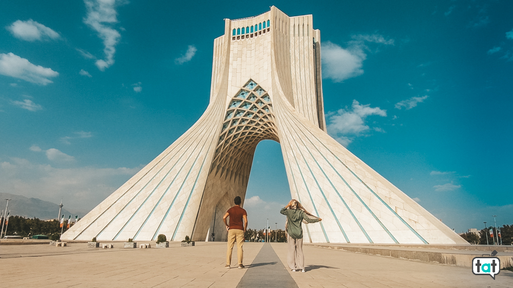 Torre Azadi Teheran