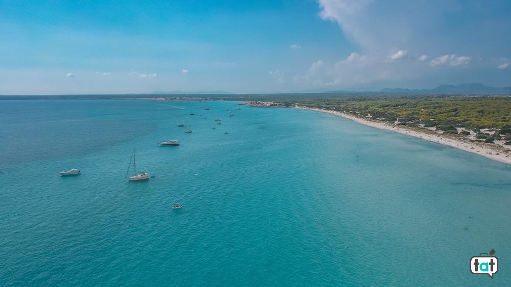 Playa Es Trenc Maiorca