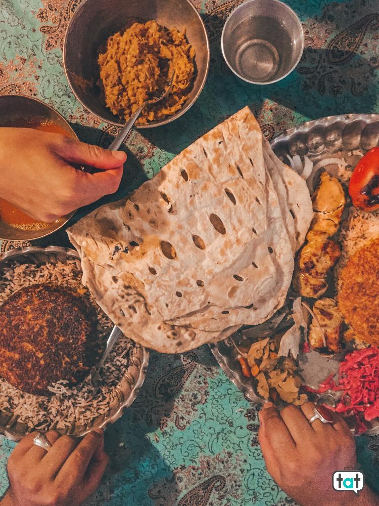 Iran Shiraz cibo