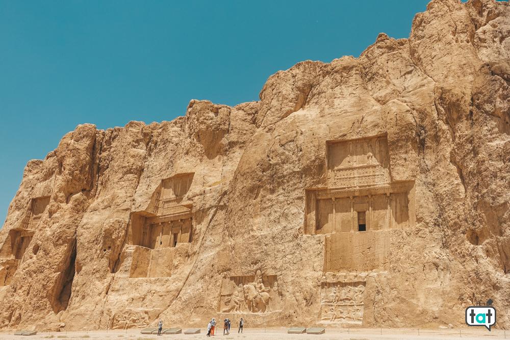 tombe rupestri persepoli
