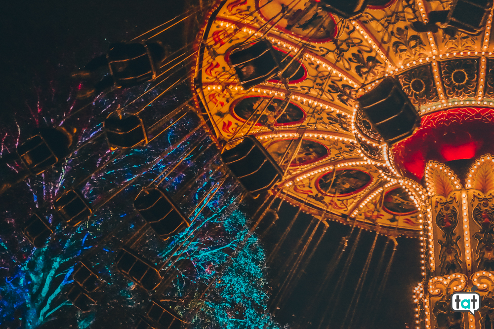 Tivoli Park Natale Copenaghen