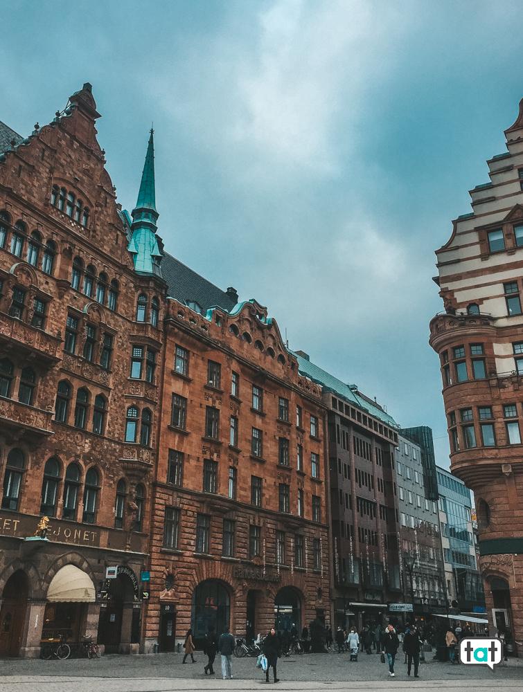 Malmo da Copenaghen