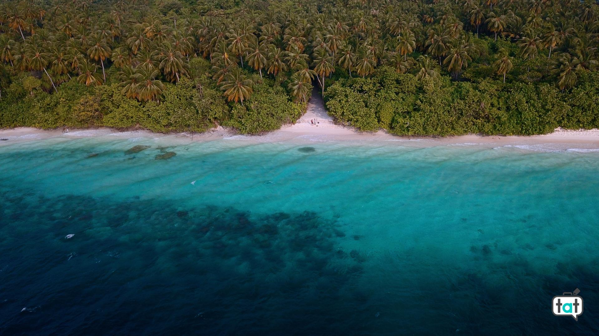 spiaggia Maldve