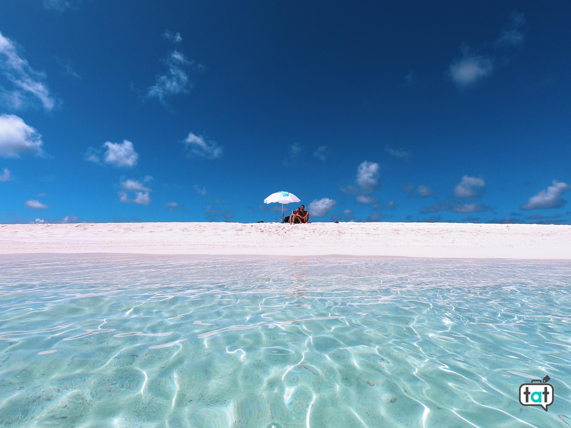 escursione sand bank maldive