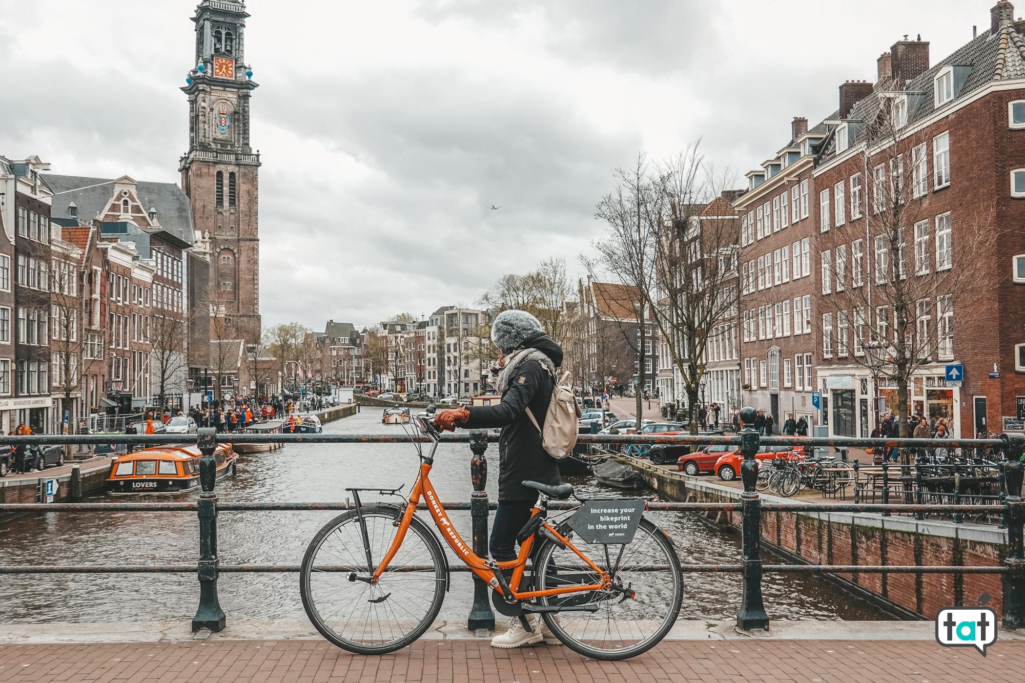 girare bicicletta Amsterdam